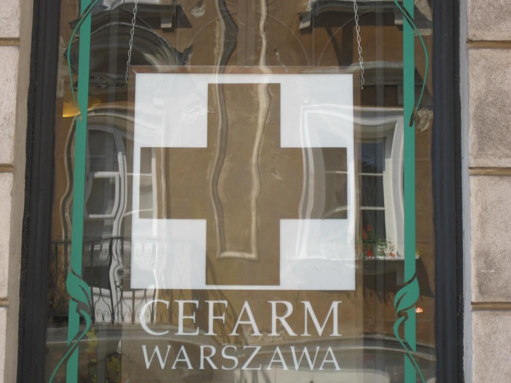 Laibach Apotheke Warschau!