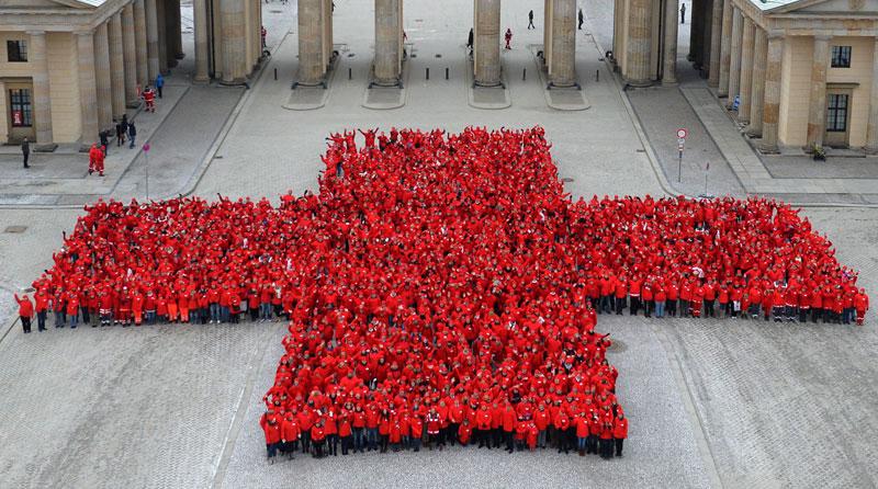 Red Laibach Cross (Berlin)