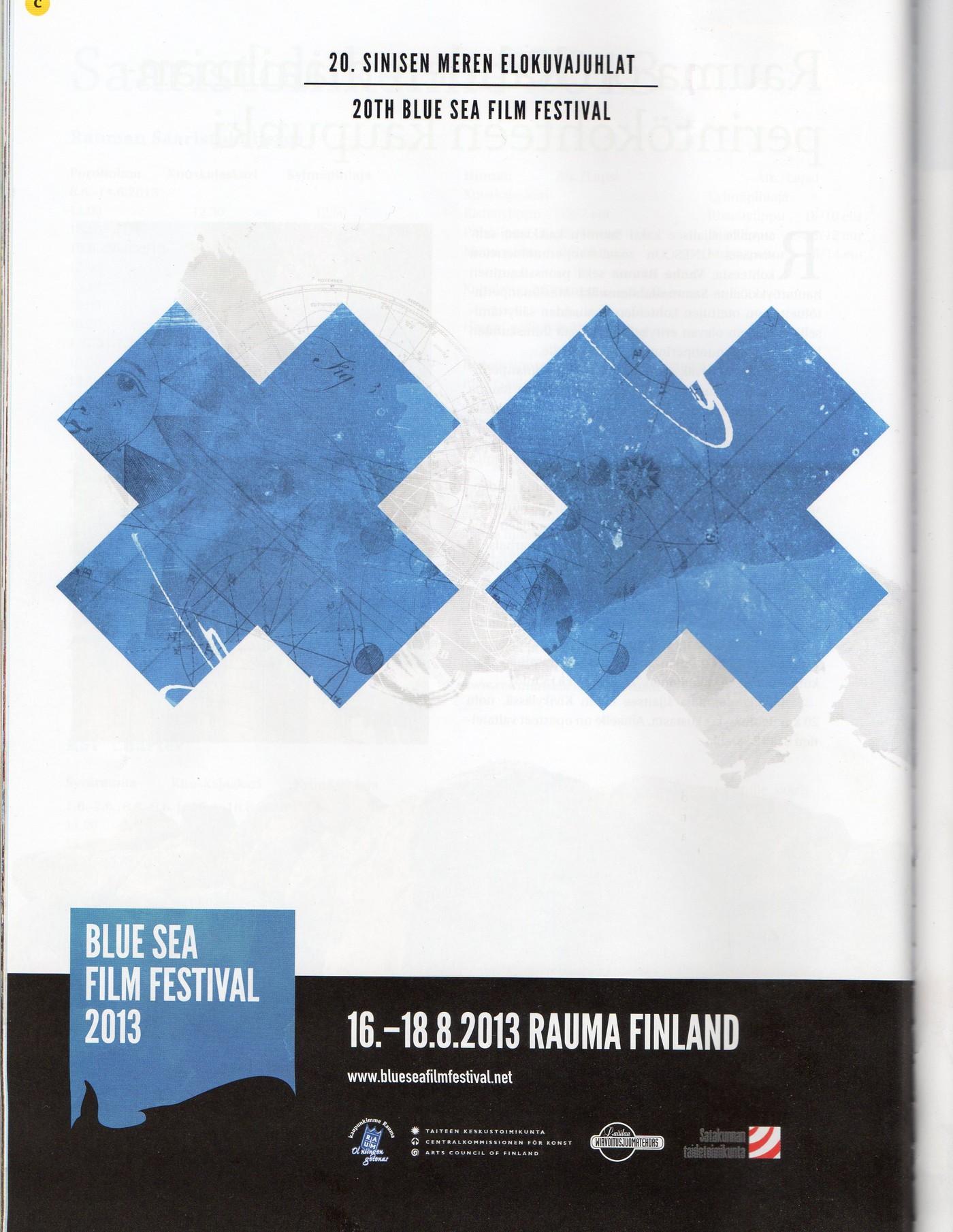 20th Blue Sea Film Festival (Rauma, Finland)
