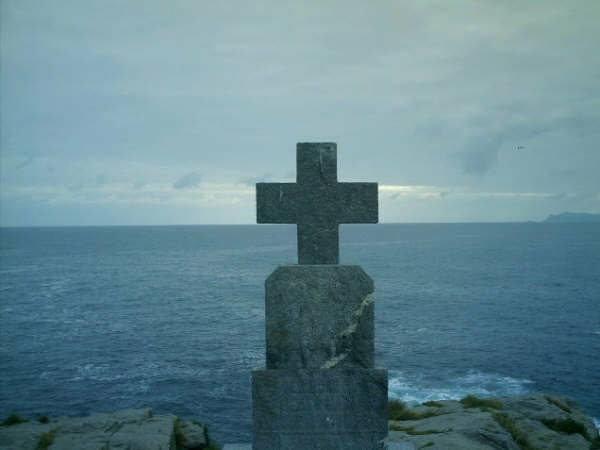 """Laibach sur le """"chemin de Compostelle"""". Océan Atlantique"""