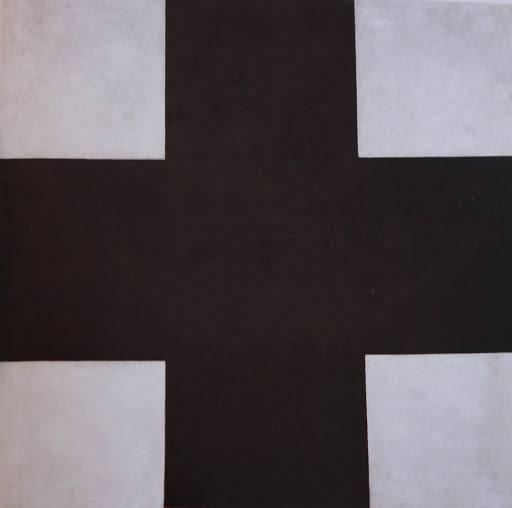 Black cross, State Russian Museum, St. Petersburg