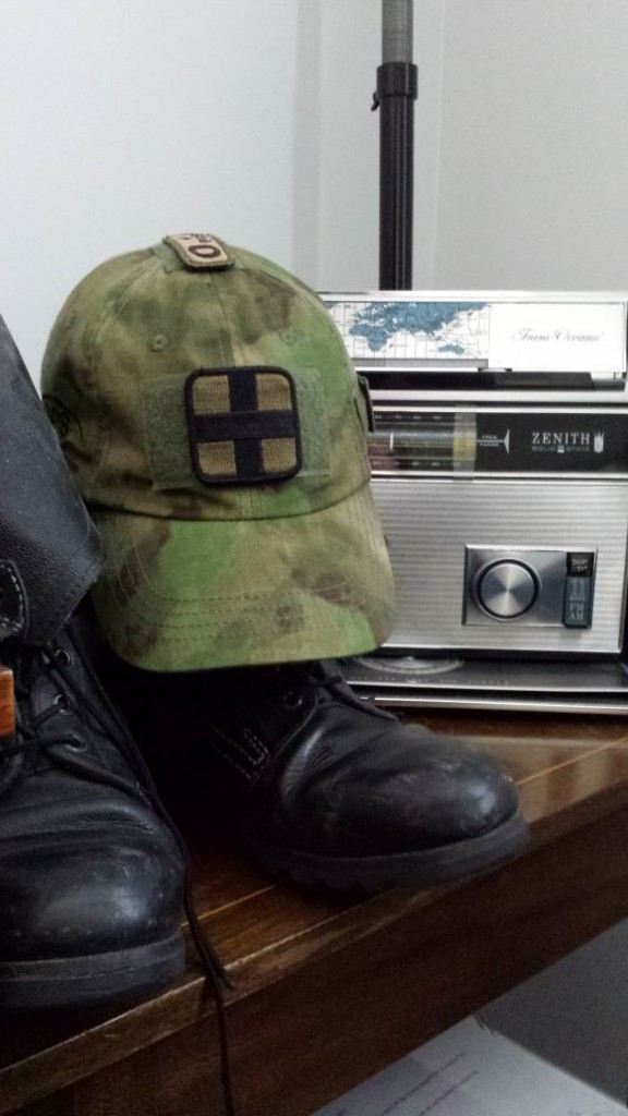 The Boots With A Hat And a Radio