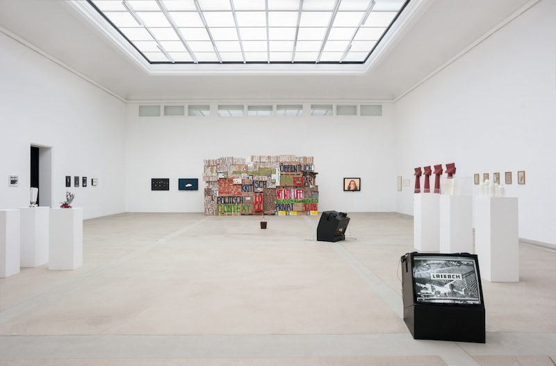 Exhibition view KM–, Graz, 2013, photo: Markus Krottendorfer