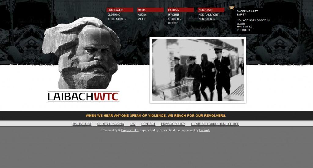 Laibach WTC Shop