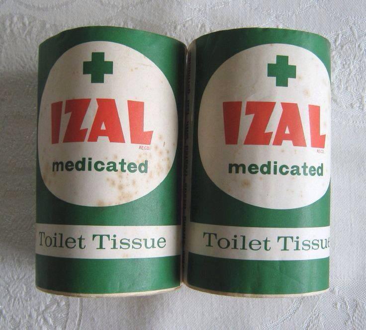 IZAL Medicated Toilet Tissue