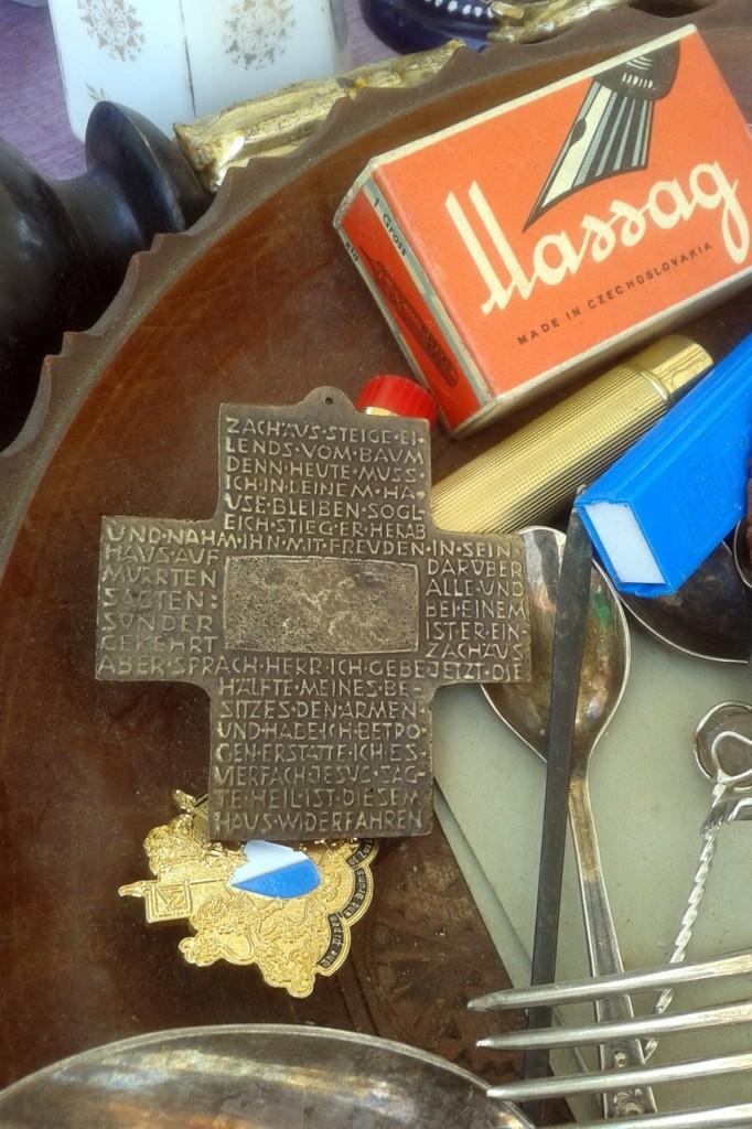 Flea-market cross (Ljubljana, SLO)