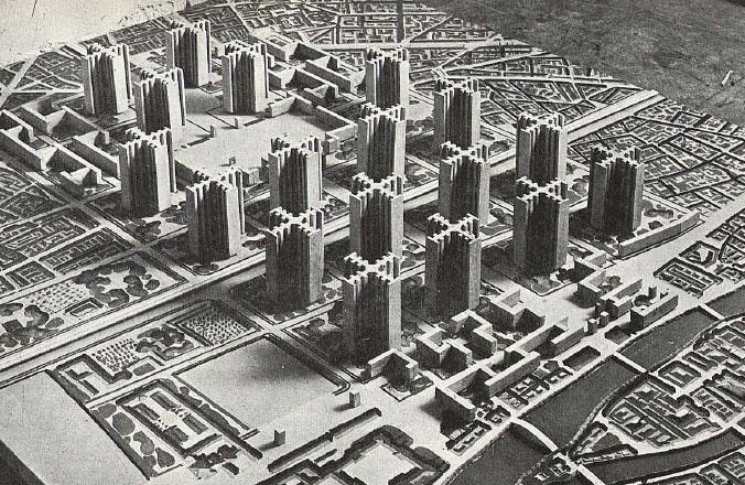 Le Corbusier - Laibach City