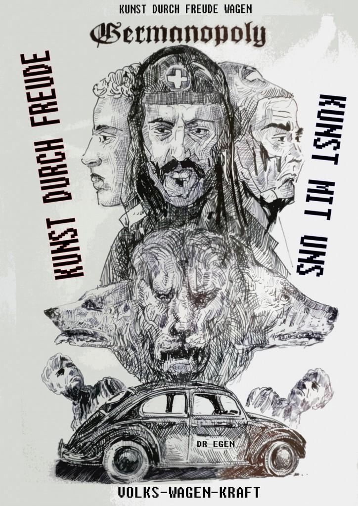 Germanopoly - Kunst durch Freude (Kunst mit Uns, pt. 5), Laibach