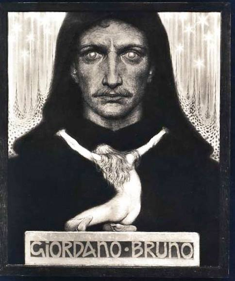 While Am At It... Everywhere I Look I See Laibach (Giordano Bruno by Fidus)
