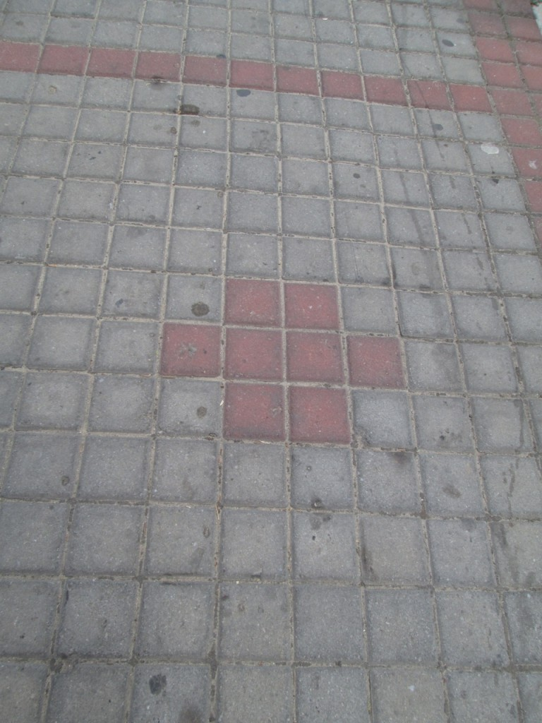 Cross at the Pavement