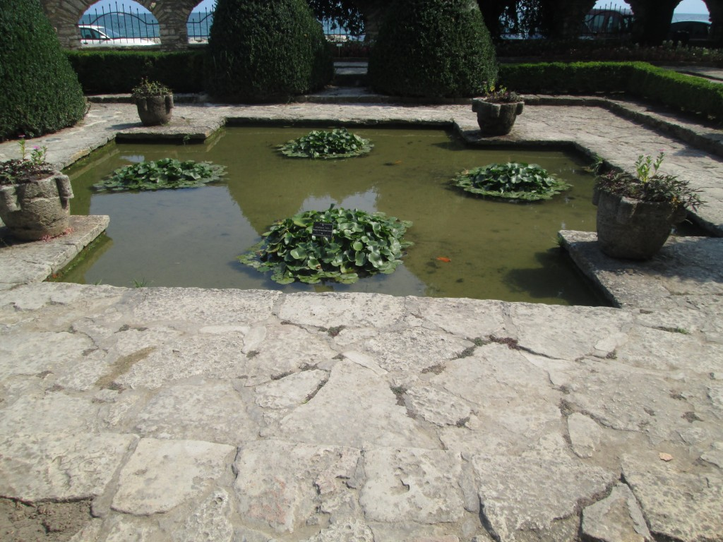 The Garden of the Palace in Balchik (RO), Laibach