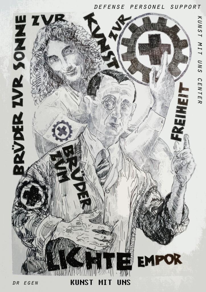 Bruder zur Sonne zur Kunst zur Freiheit ! Kunst mit Uns pt. 8 ( deicated to Laibach)