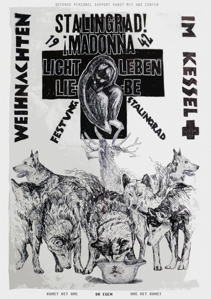 Stalingrad Madonna - Licht - Leben - Liebe ( Kunst mit Uns - Uns mit Kunst pt. 13), Laibach