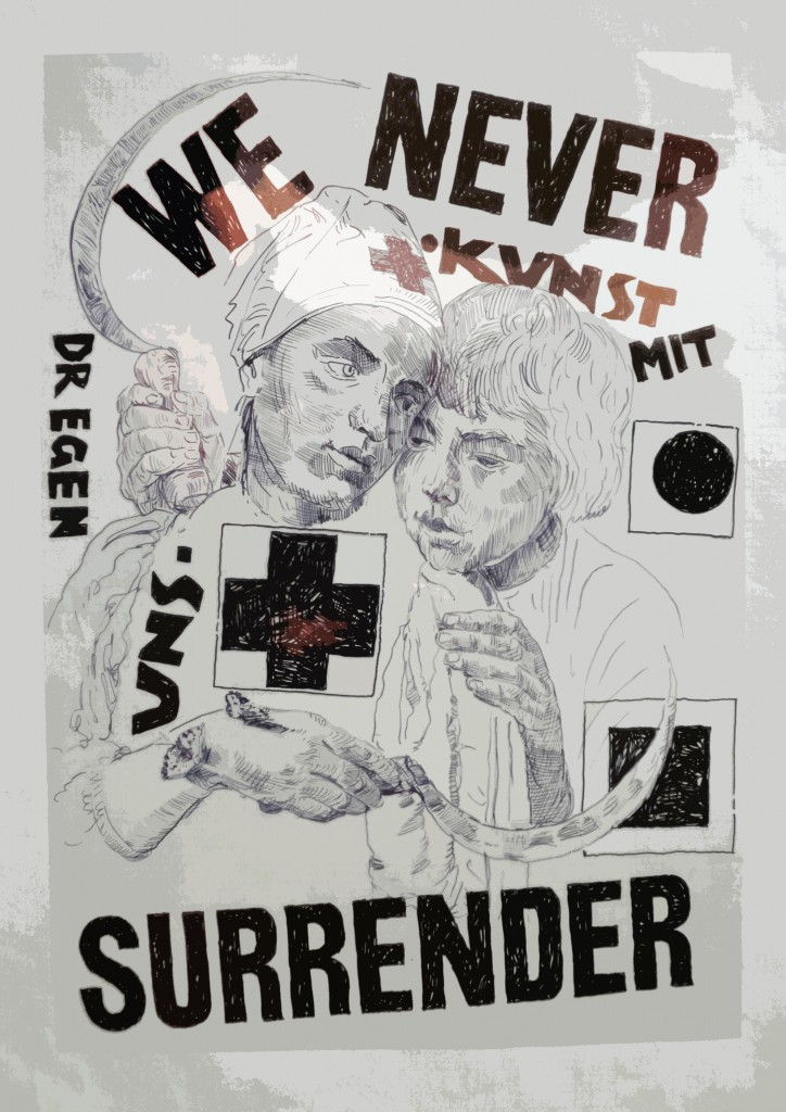 We never surrender, Laibach