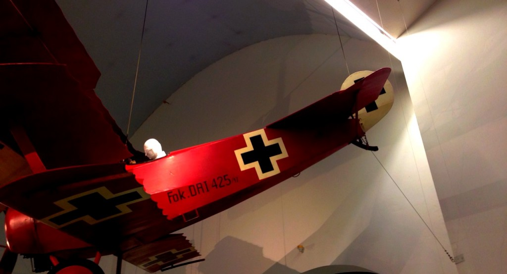 Black Cross Bomber: A German WW1 pursuit plane from the Deutsches Museum in Munich