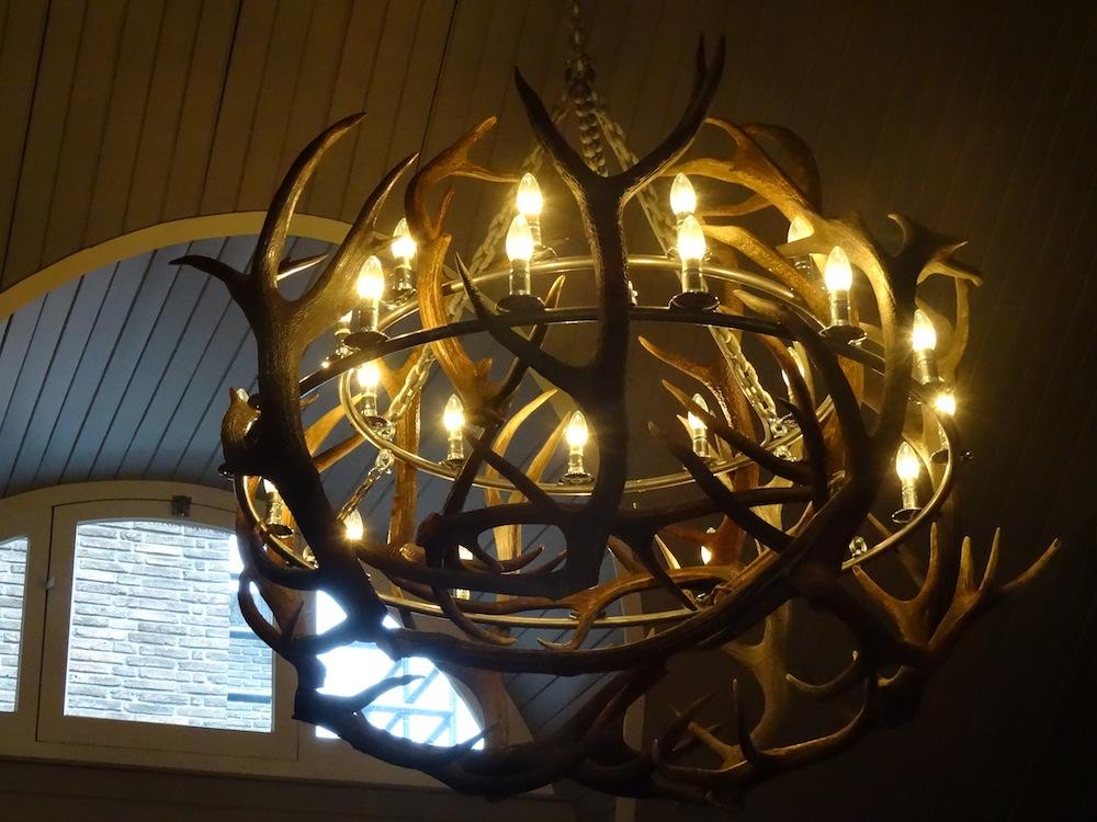 A Chandelier in Restaurant in Holland