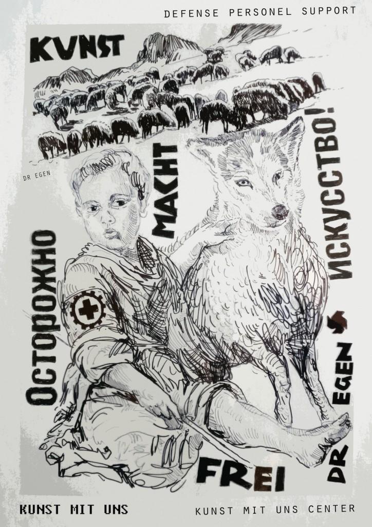 Kunst macht frei - Kunst mit Uns (pt. 14), Laibach