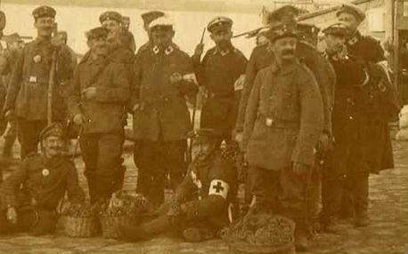 Laibach in Smederevo, Srbia, 1915