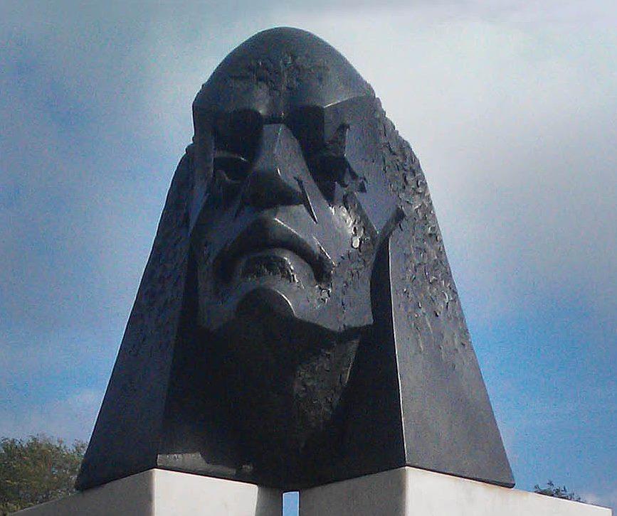 """Laibach? (""""Immaginario ritratto di un genio"""" by Franco Repetto, San Biagio, Genoa, Italy)"""
