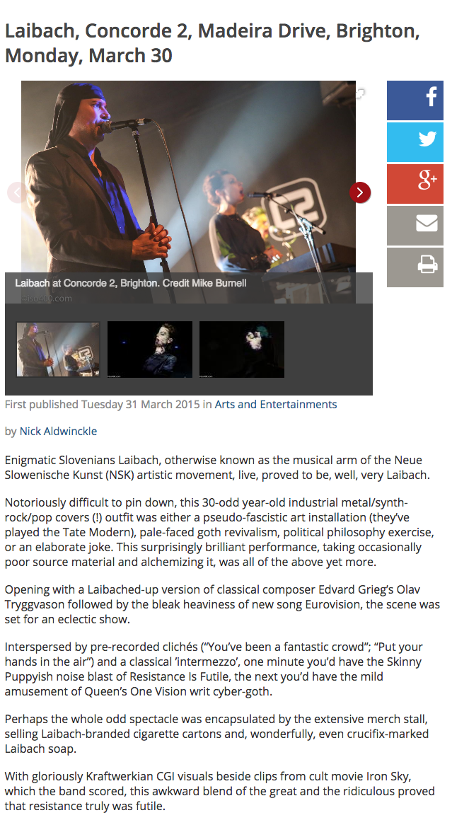 Articles in English-ex ‹ Laibach