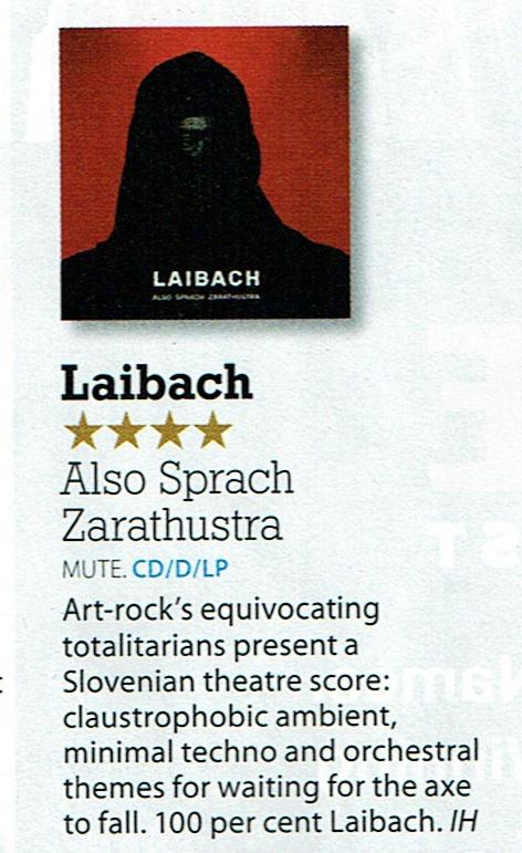 laibach also sprach zarathustra